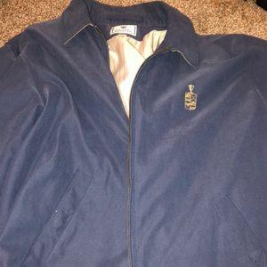 Navy Blue Golf ZipUp Jacket
